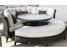 4 Pc. Gulf Shore Sectional Dining Set