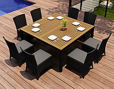 9 Pc. Arbor Square Dining Set HL-AR-CB-9SDS