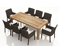 9 Pc. Arden Dining Set HL-ARD-TK-9DS