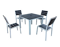 5 Pc. Brasserie Dining Set HL-BRASS-SB-5DS