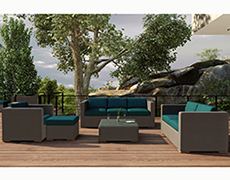 5 Pc. Element Sofa Set HL-ELE-TP-5SS