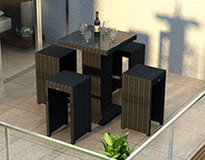 5 Pc. Urbana Bar Set HL-URBN-CB-5BS
