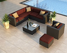 8 Pc. Urbana Sectional Set HL-URBN-CB-8SEC