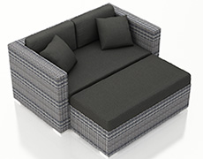 Urbana Day Lounger - Weathered Stone HL-URBN-WS-DL