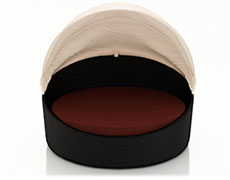 Wink Canopy Day Bed - Coffee Bean HL-WINK-CB-DB