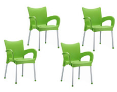 4 Pc. Romeo Dining Arm Chair ISP043