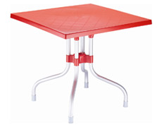 "Forza 31"" Square Folding Dining Table ISP770"