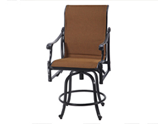 Michigan Padded Sling Swivel Balcony Stool 61140006