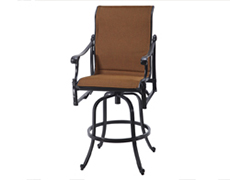 Michigan Padded Sling Swivel Bar Stool 61140007
