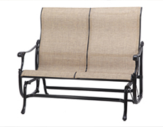 Michigan Sling High Back Loveseat Glider 50140004