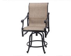 Michigan Sling Swivel Balcony Stool 50140006