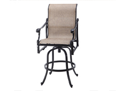 Michigan Sling Swivel Bar Stool 50140007