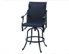 Michigan Woven Swivel Bar Stool 70140007