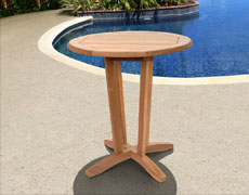 "Nile 27"" Round Dining Table"