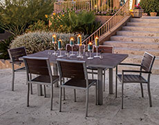 7 Pc. Euro Dining Set PWS117-1