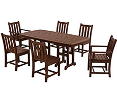 7 Pc. Traditional Garden Dining Set PWS133-1