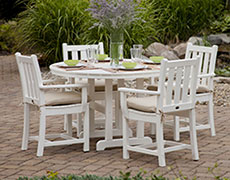 5 Pc. Traditional Garden Dining Set PWS134-1