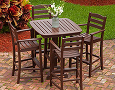 5 Pc. La Casa Cafe Bar Set PWS172-1