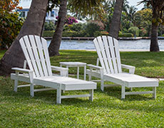 3 Pc. South Beach Chaise Set PWS178-1