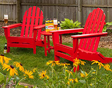 3 Pc. Classic Adirondack Chat Set PWS214-1