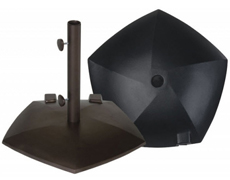 Pentagon 80 lb. Umbrella Base BK80