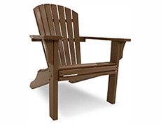 Seashell Adirondack Chair SH22