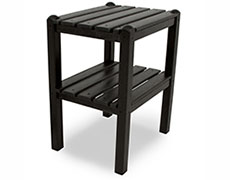 Two Shelf Side Table TWST