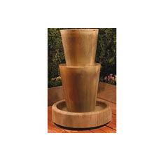 Bi-Level Jug Floor Fountain