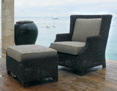 Terrace Lounge Chair with Ottoman