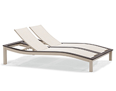 Bazza Double Chaise Lounge ZX2