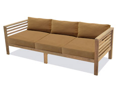Anaheim Reclaimed Teak 3 Seater Sofa FP-ANA-3S-TK-CO