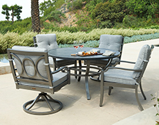 Aragon 5-Pc. Cushion Dining Set