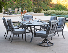 Aragon 7-Pc. Rectangular Dining Set