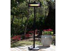 Arcadia Black Powder Infrared Patio Heater