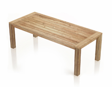 Classic Reclaimed Teak Dining Table - Rectangle HL-CLSC-TK-RCDT