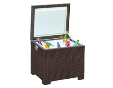 Barbados End Table Ice Chest FP-BAR-ICE-EB