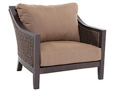 Biscay Wicker Cuddle Chair A082200-02-FCAC