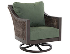 Biscay Wicker Swivel Lounge Chair A085300-02-FCAF