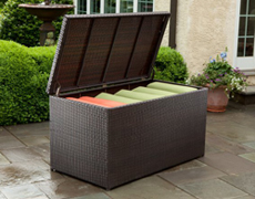 Universal All Weather Wicker Cushion Storage Box 43-8307
