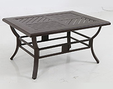Allegro Cast Slats Coffee Table C013244-01-CRPN