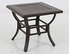 Allegro Cast Slats End Table C012424-01-CRPN