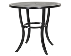"""Channel 44"""" Round Bar Table 10190L44"""