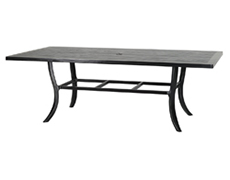 "Channel 44"" x 86"" Rectangular Dining Table 101900C9"