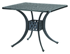 """Coordinate 30"""" Square Dining Table 10310D30"""