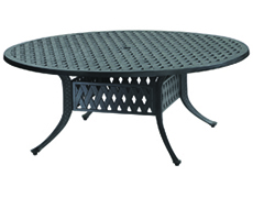 """Coordinate 48"""" Round Chat Table 10310M48"""