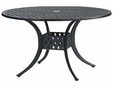 """Coordinate 48"""" Round Dining Table 10310A48"""