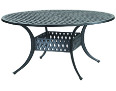 """Coordinate 54"""" Round Dining Table 10310A54"""