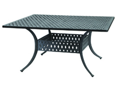 """Coordinate 60"""" Square Dining Table 10310D60"""