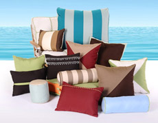 Custom Decorative Sunbrella Throw Pillows