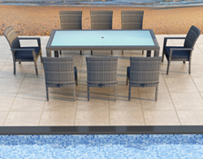 9 Pc. District Outdoor Dining Set HL-DIS-TS-9DS